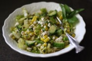 Sweetcorn and Cucumber Salad