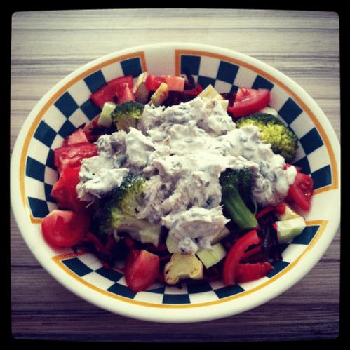 Rens warming salad