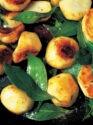 Sautéed Jerusalem Artichokes with Garlic & Bay Leaves