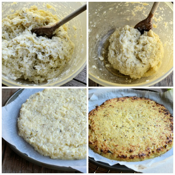cauli-pizza-base-steps