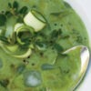 Chilled Courgette Soup with Purslane