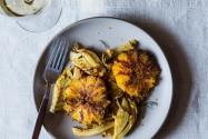 Caramelized Fennel, Leek, and Orange Salad