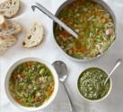 Green Bean Minestrone Soup