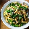 Pasta with Purple Sprouting Broccoli