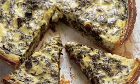 Sweet sorrel tart