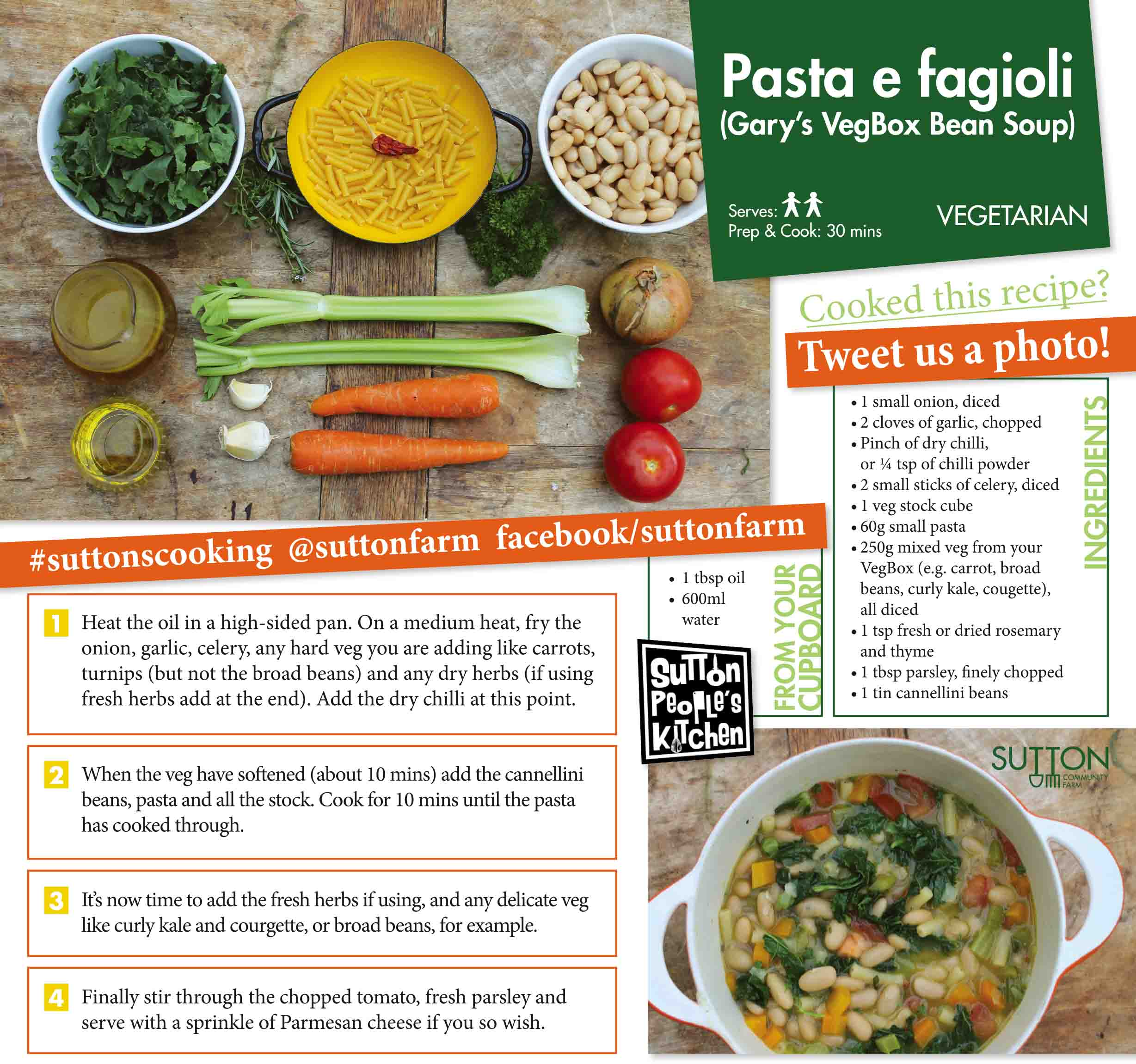 Pasta Fagioli (Pasta And Beans) Recipe — Dishmaps