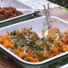 Squash Puree with Quinoa Salad