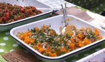 Squash Puree with Quinoa Salad