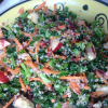 Couscous Salad with Kale, Carrot & Apple