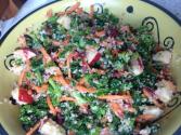 Couscous Salad with Kale, Carrot & Apple