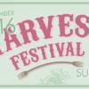 Harvest Festival 2016: Saturday 10 September, 11-4pm