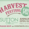 Harvest Festival 2017: Saturday 9 September, 11-4pm