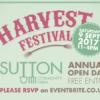 Harvest Festival 2017: Saturday 9 September, 11-4pm