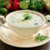 Cold Summer Soup (Russian style) Okroshka